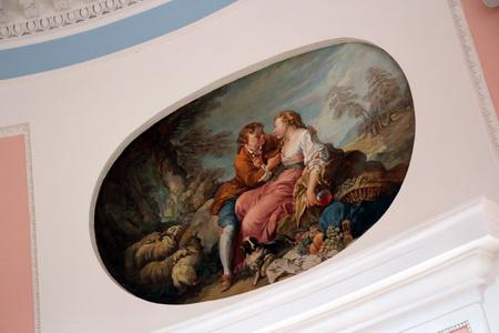 Фреска в Пиль-Башне