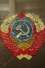 Кружевной герб СССР