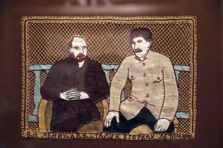Ленин и Сталин в Горах