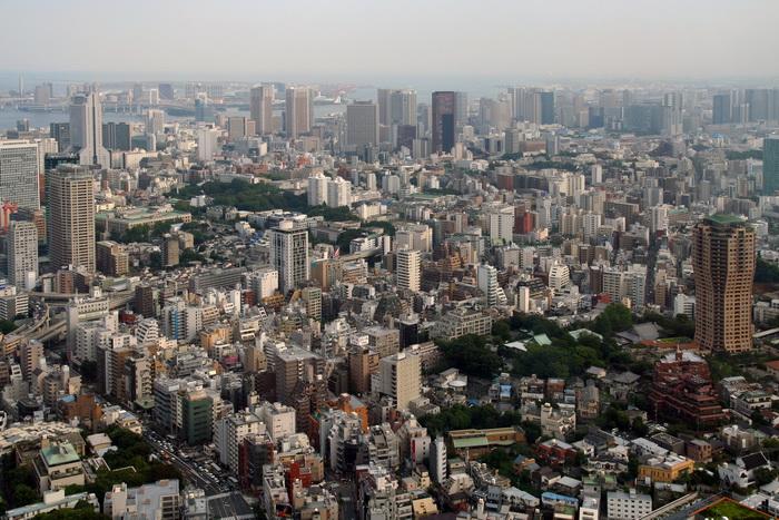 Так выглядит столица с небоскреба Roppongi Hills Mori Tower