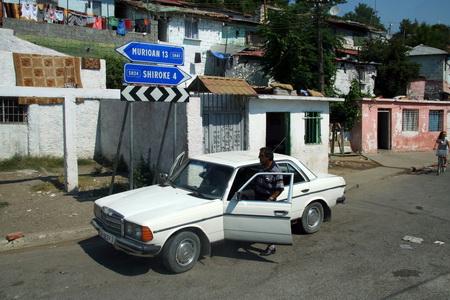 На автомобиле по Албании
