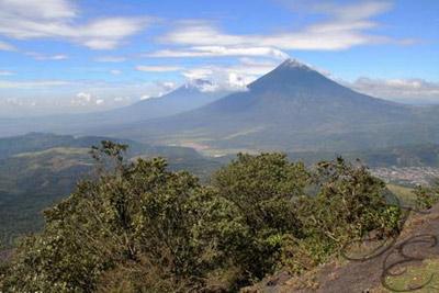 Вулкан Гватемалы Пакайя