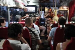 Трамвай №302-бис отправляются на Патриаршие пруды