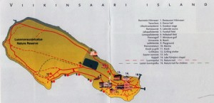 Карта Виикинсаари