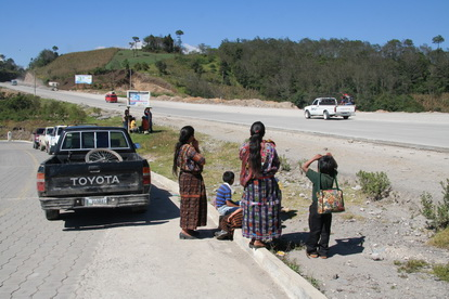Гватемальские дороги очень напоминают российские