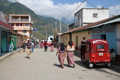 Типичная улица провинциального городка