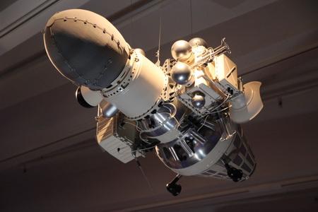 Макет космического корабля