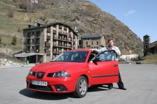 Арендованный Seat Ibiza зарекомендовал себя превосходно