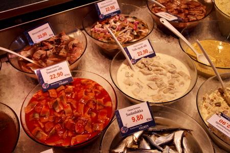 Отдел рыбных деликатесов - самый аппетитный!
