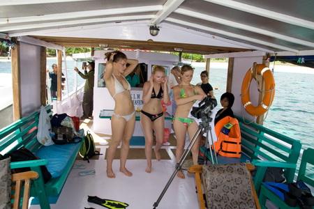 На Комодо отправляются небольшие туристские суда