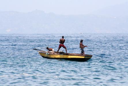 Гаитянские рыбаки