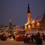 Предрождественская суматоха в Таллинне и Тарту.