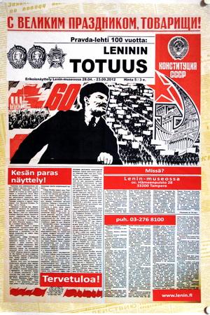 Финская пресса о Ленине