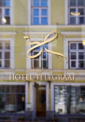 Ресторан расположен в отеле «Telegraaf» на улице Vene