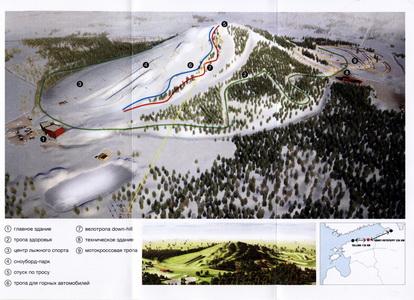 План парка Кивиыли