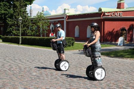 На сегвее по Петропавловской крепости