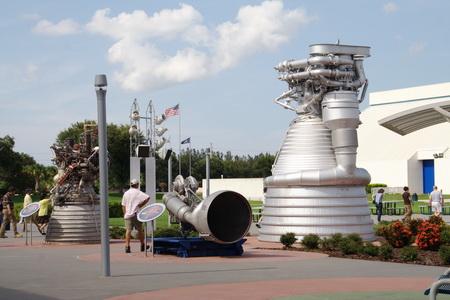 """В """"Саду ракет"""" можно увидеть гигантские двигатели"""