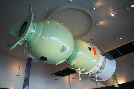 В музее истории космонавтики радует наличие советской техники