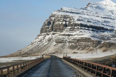 На исландских дорогах не разгонишься