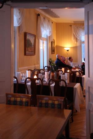 Ресторан состоит из нескольких залов