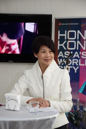Дейзи Луи, заместитель исполнительного директора Управления по Туризму Гонконга