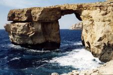 """""""Лазурное окно"""" - одно из чудес Мальты"""
