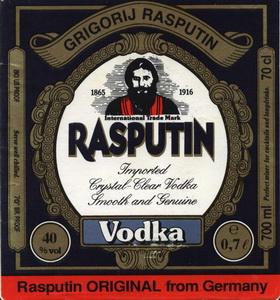 Немецкая водка «Rasputin»