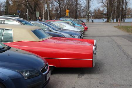 Сложности парковки ретро-авто