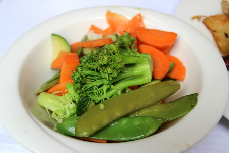 Отварные овощи для гарнира