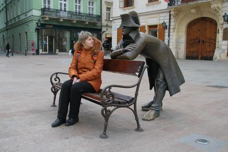 В центре города можно запросто пообщаться с Наполеоном