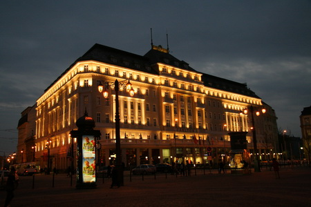 Столица Словакии особенно красива вечером и ночью