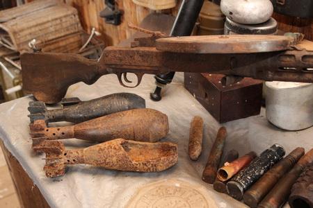 Все эти предметы были найдены на окрестных полях