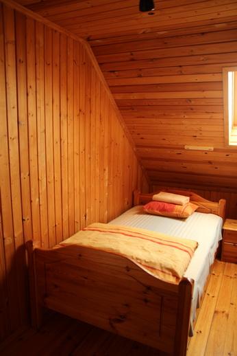 В домах имеются двухместные спальни