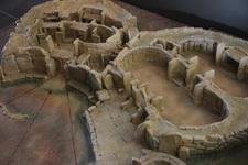 Макет мегалитического храма