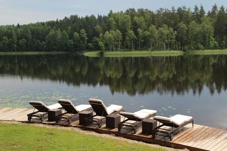Прелести отдыха на озере