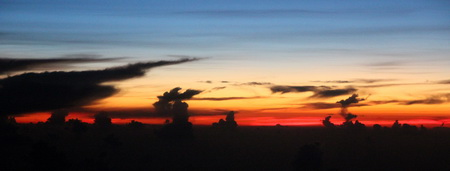 Закат над Юкатаном
