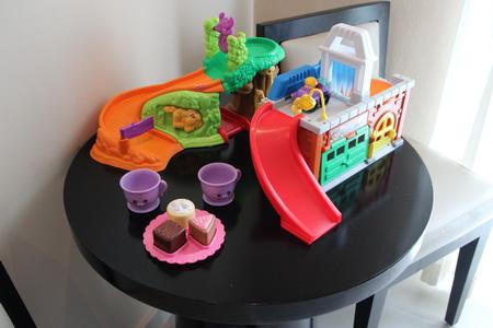 В номере имеется набор игрушек