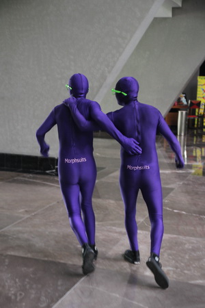 В отеле можно встретить странных личностей