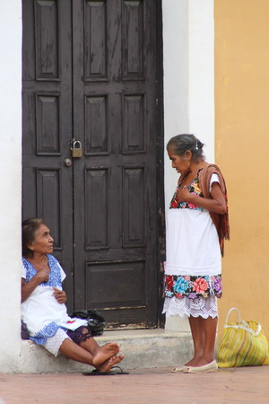 Потомки майя и конкистадоров
