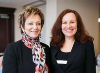 Дорит Голендер, посол Израиля в РФ (слева) и Нета Брискин-Пелег, советник по туризму Посольства Израиля (справа)