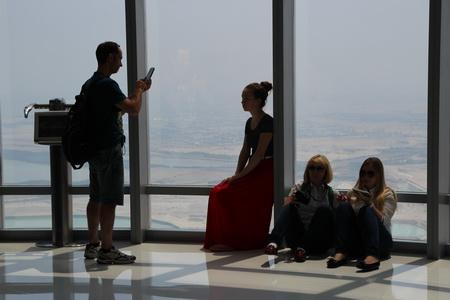 Смотровая площадка на «Бурдж-Халифа»