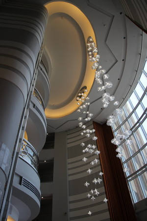 Лобби «Sheraton Mall of the Emirates hotel»