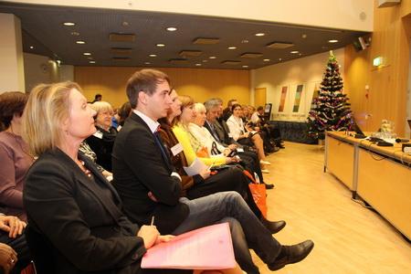 Семинар в Генеральном Консульстве Финляндии в Санкт-Петербурге