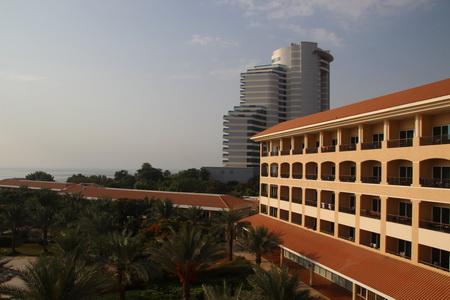 Гостиницы «Le Meridian Al Agah hotel» и «Fujeirah Rotana hotel»