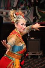 Индонезийская танцовщица