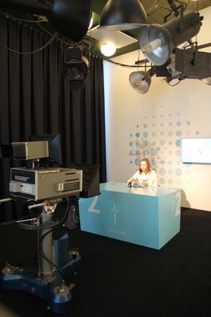 На телебашне любой может побыть в роли телеведущего