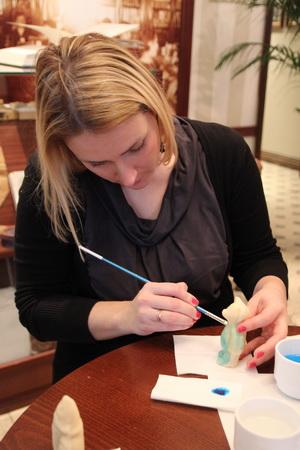 Мастер-класс по росписи марципанов
