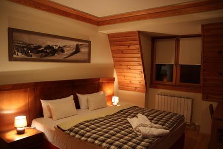 Спальня в апарт-отеле «Vucko»