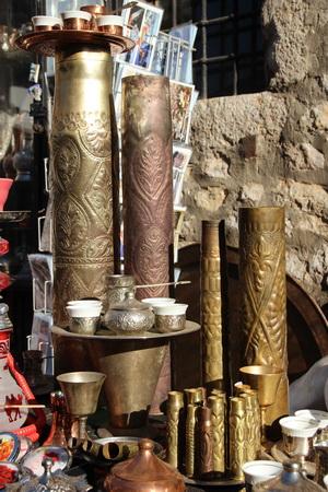 Подсвечники и вазы из снарядных гильз