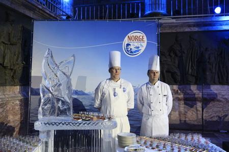 Норвежские повара потрудились на славу